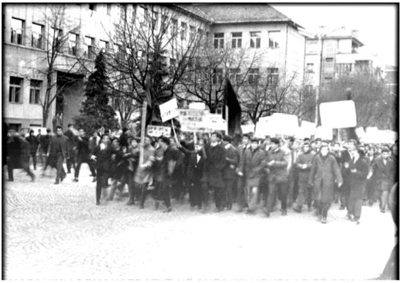 Nisja e demonstratave në Kosovë
